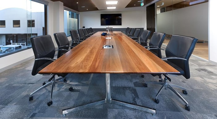 boardroom with 14 seats