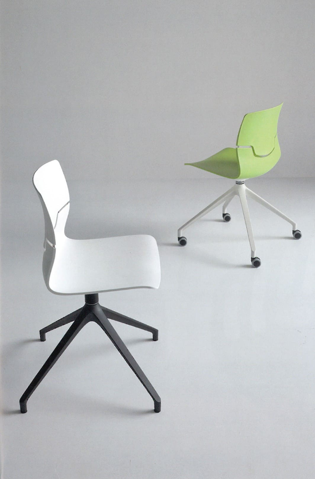 white and green Capper chair