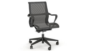 Scroll office chair