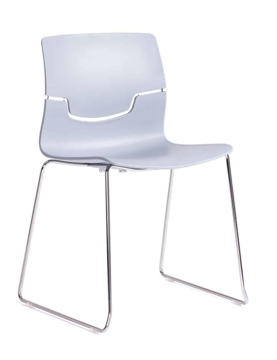 all-white Capper chair
