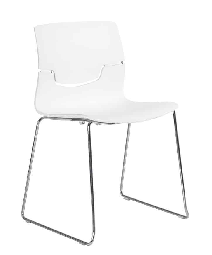 full-white Capper chair